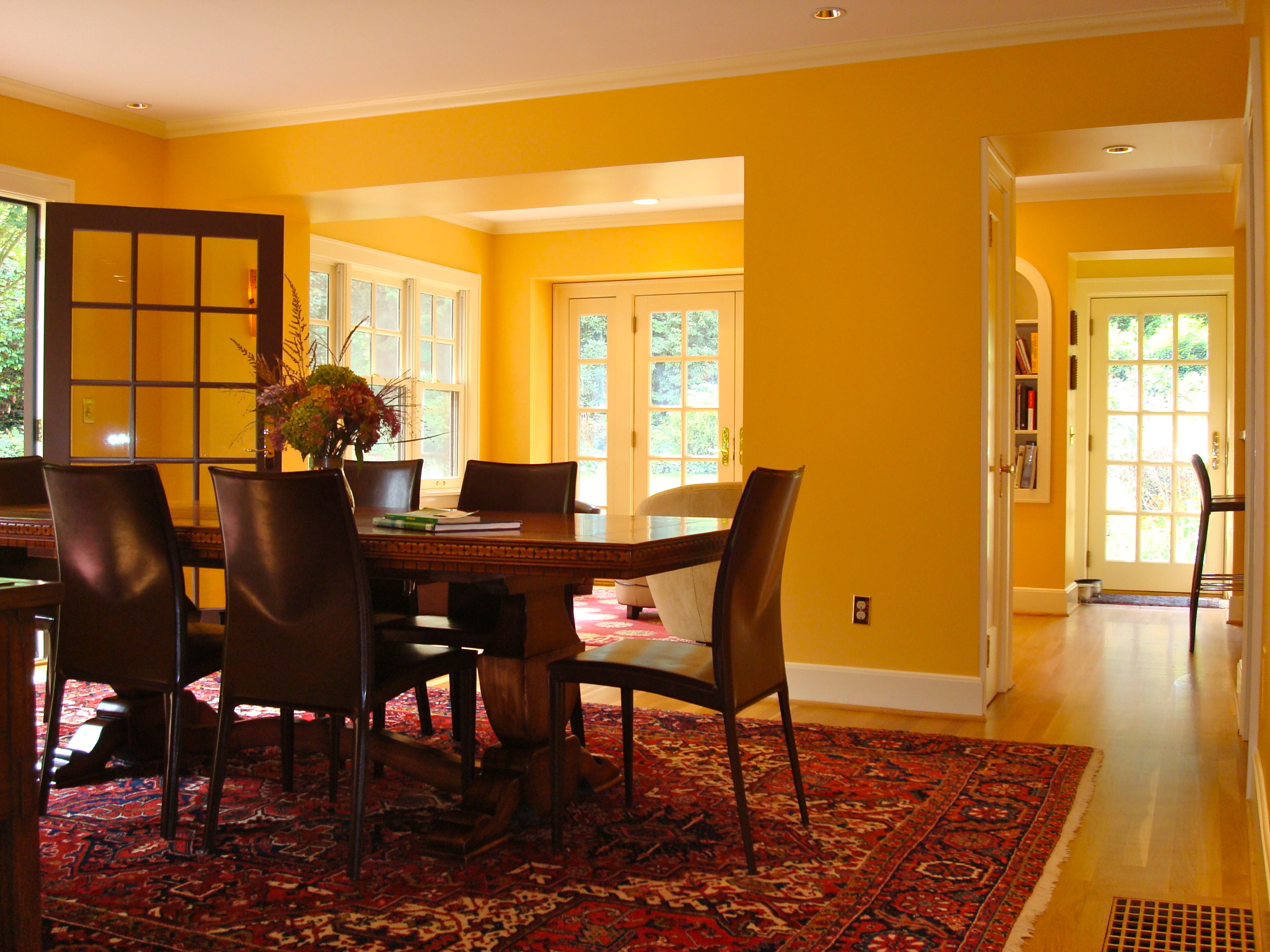 South Barrington Dining Room Project: 1930s Dining Room And Library Remodel